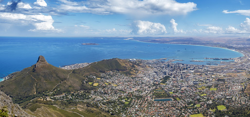 capetown panorama signal hill