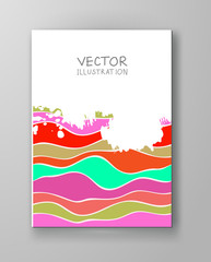 Abstract design templates.