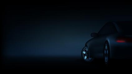 Realistic Elegant Luxury Car Banner Template