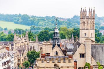 Oxford cityscape. England