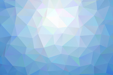 light blue low poly background
