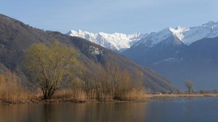 Lago di Como a Colico