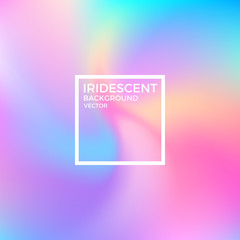 Abstract iridescent background. Vibrant color