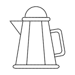 Kitche kettle isolated icon vector illustration graphic design