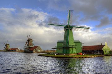 Zaanse Schans Windmills - the Netherlands