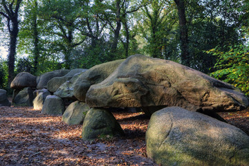 Huge megalith in the Netherlands