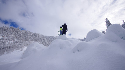 snowboarder in exile