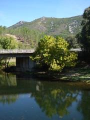 Riomalo de Abajo. Alquería del concejo de Caminomorisco, en Las Hurdes, en la provincia de Cáceres (Extremadura, España)