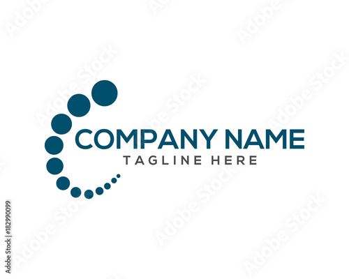 Classic Circle Global For Business Company Generic Logo Modern - Generic company logo free