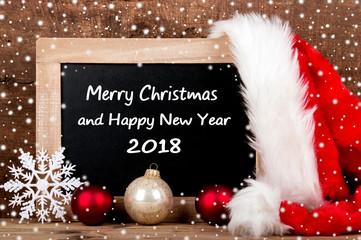 Merry Christmas - Grußkarte