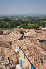 Rooftops of a French village