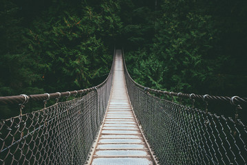 Lynn Valley suspensin Bridge North Vancouver