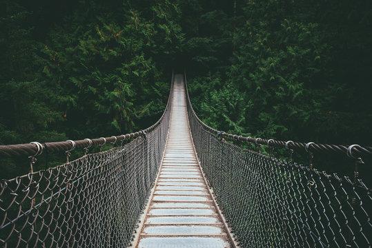 Lynn Valley suspensin Bridge North Vancouver