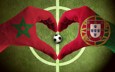 Morocco vs Portugal