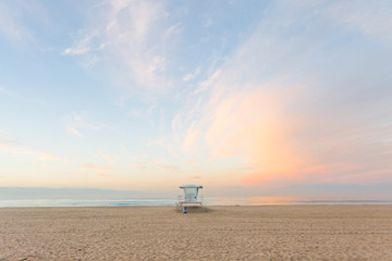 Huntington Beach Sunrise - Landscape