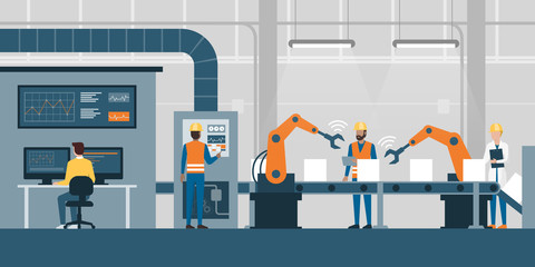 Smart factory and production line