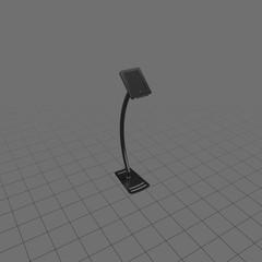 Black tablet stand