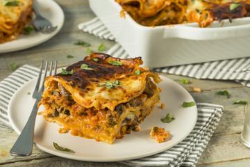 Savory Homemade Italian Beef Lasagna