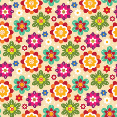 Mexican bright pattern
