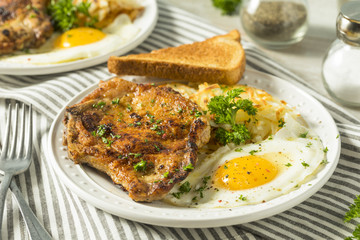 Homemade Fried Breakfast Pork Chops