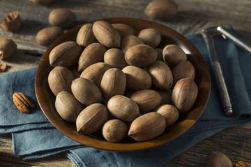 Raw Brown Organic Shelled Pecans