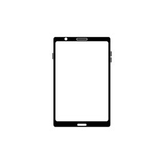 mobile phone gadget technology touch screen vector illustration black image