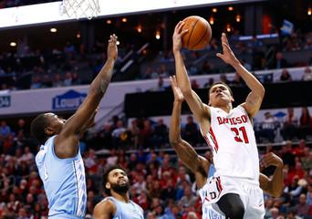 NCAA Basketball: North Carolina at Davidson