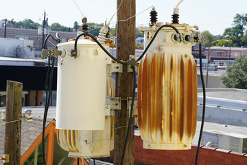 Power Lines in the City - Transformer