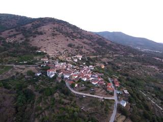 Segura de Toro. Pueblo de Cáceres (Extremadura, España)