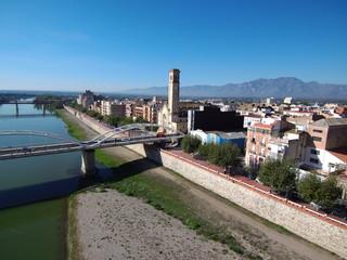 Tortosa. Ciudad capital del Bajo Ebro, situada en la provincia de Tarragona, Cataluña (España)