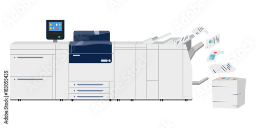 Multifunction copy printer scanner  Xerox machine