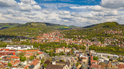 View of Jena (Thuringia, Germany)