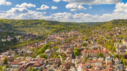 View of Jena (Thuringia, Germany)
