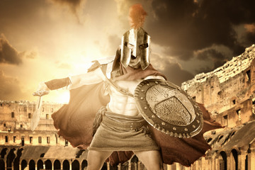 Ancient soldier or Gladiator