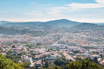 Centre Ville de Braga Portugal vue générale plan d'ensemble panorama
