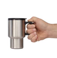 kubek termiczny w dłoni