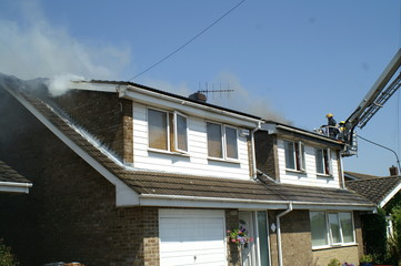 house fire, fire damage, smoke damage, family home, post traumatic stress disorder