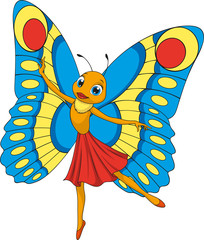 Little beautiful butterfly