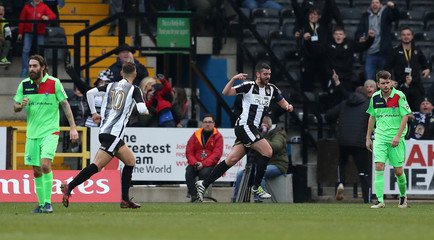 FA Cup Second Round - Notts County vs Oxford City