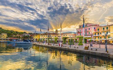 Wall Mural - Harbor and village  Porto Azzurro, Elba islands, Tuscany, Italy