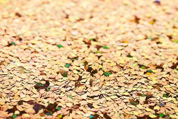 Colourful confetti background
