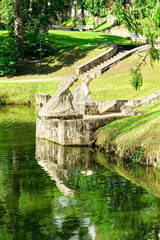Schlosspark Cesis, Lettland