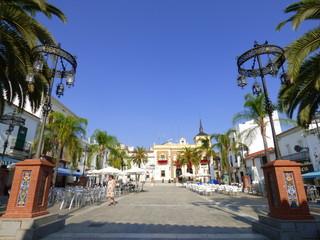 Valverde del Camino. Pueblo de Huelva, en la comunidad autónoma de Andalucía (España)