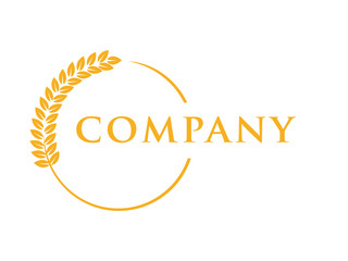wheat seed food bakery logo
