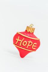 Christmas decorations - HOPE