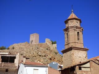 Villel. Pueblo de Teruel en la comunidad autónoma de Aragón (España)