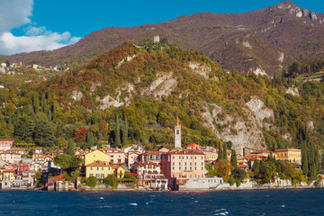 Varenna, small town in the vicinity of Lake Como, Italy.