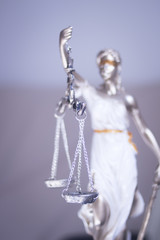 Lawyers legal justice statue