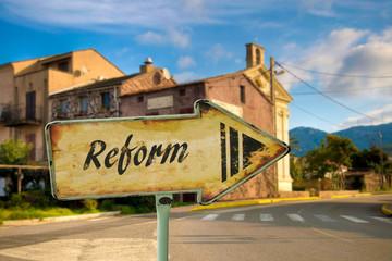 Schild 198 - Reform