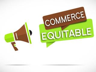 mégaphone : commerce équitable
